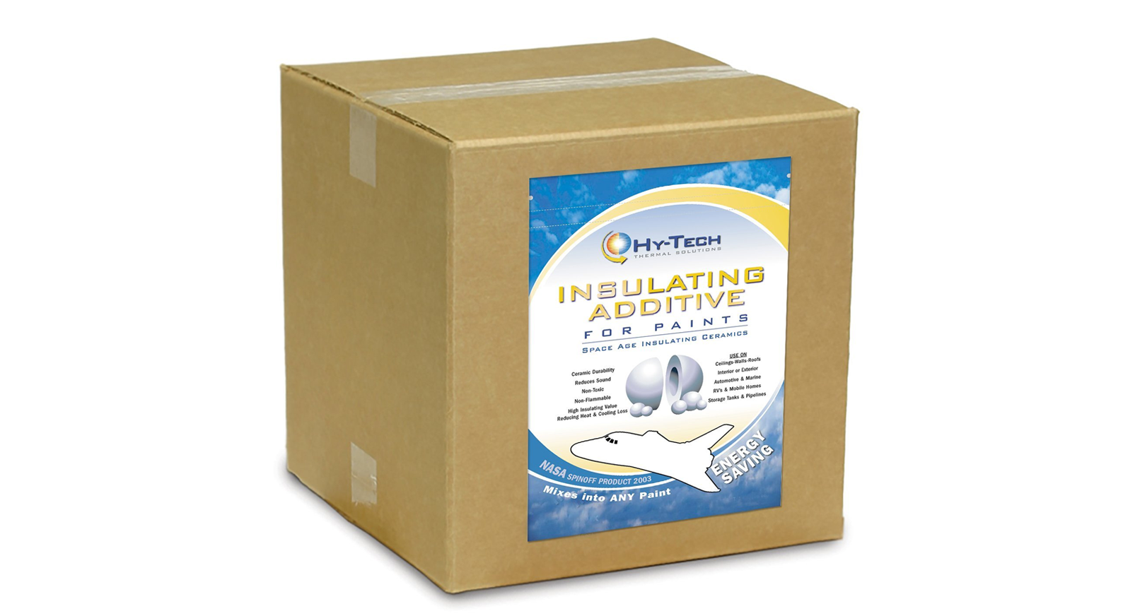 Click Here To Hy Tech Thermal Insulation Paint Now